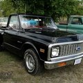 Chevrolet custom 10 stepside 1971-1972