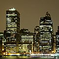 New-York (La skyline la nuit)