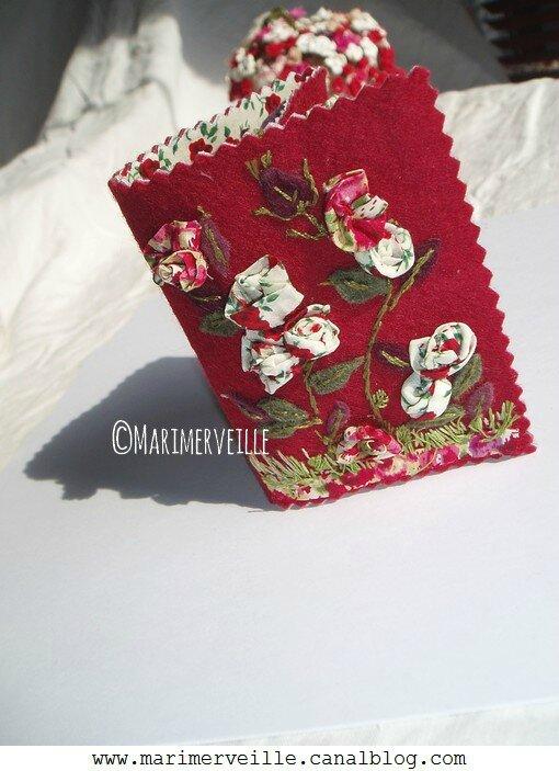 ouverture Carnet couture Buisson aux roses Marimerveille