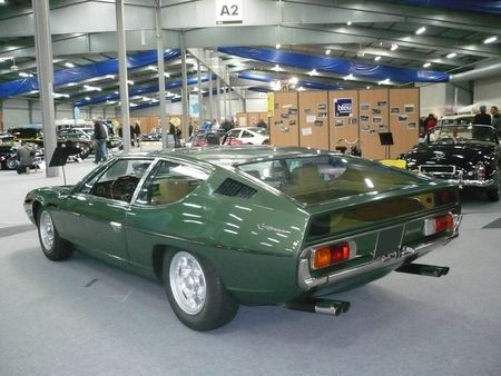 LAMBORGHINI Espada S2 400 GTE coupé 2+2 1971 Besançon (2)