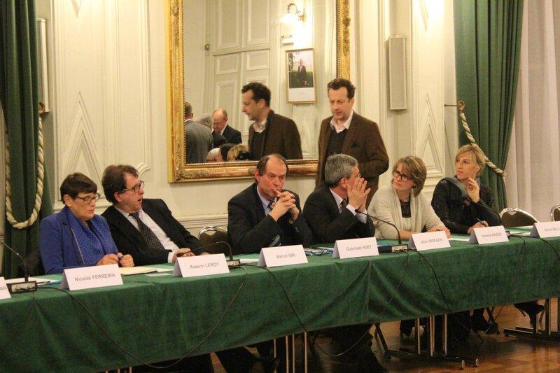 conseil municipal Avranches vote du maire 28 mars 2014 Guénhaël Huet député