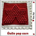 etoile pop corn