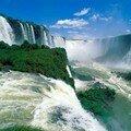 Brésil les chutes d'Igassu