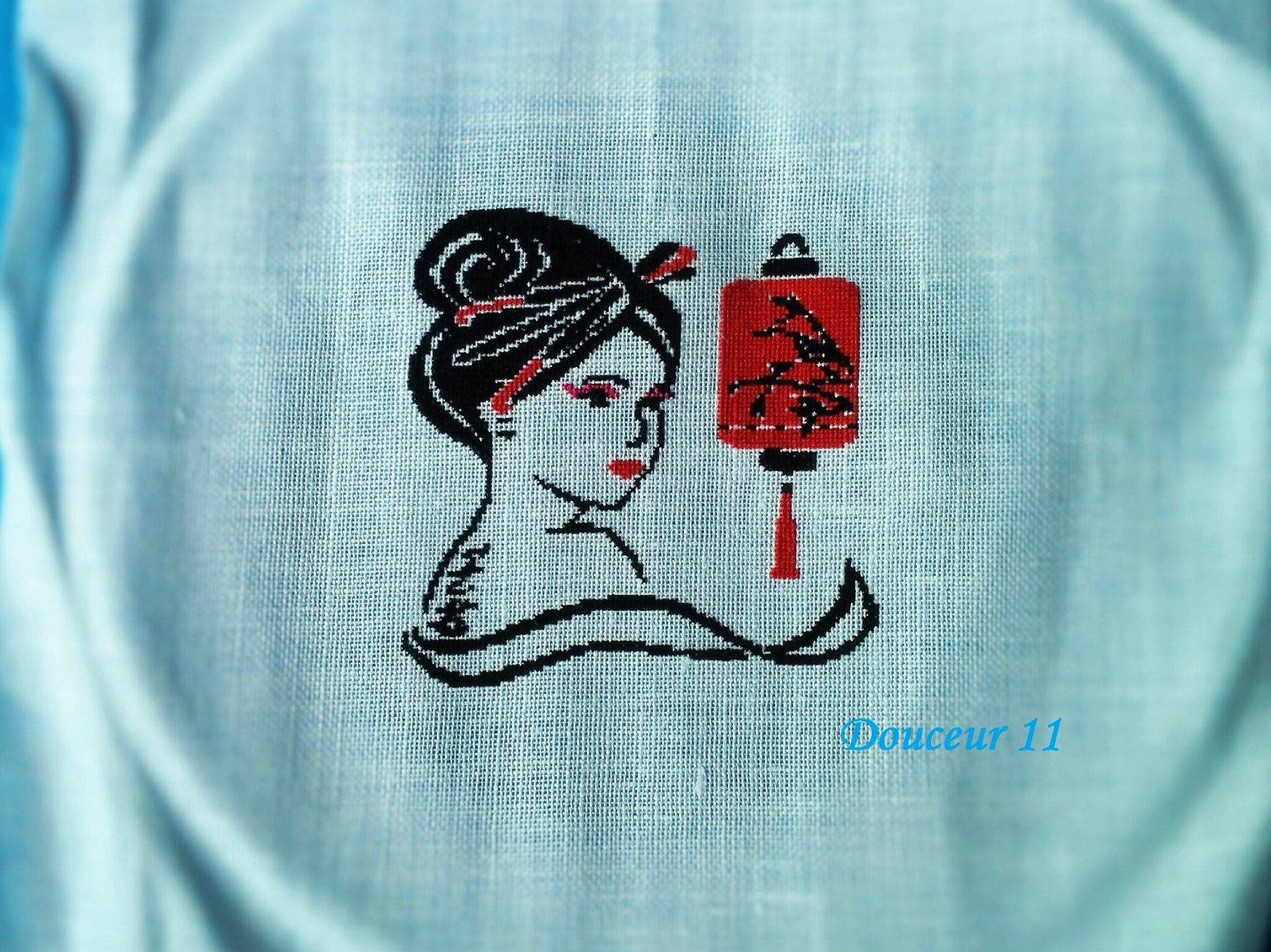 Geisha au lampion - douceur 11 -