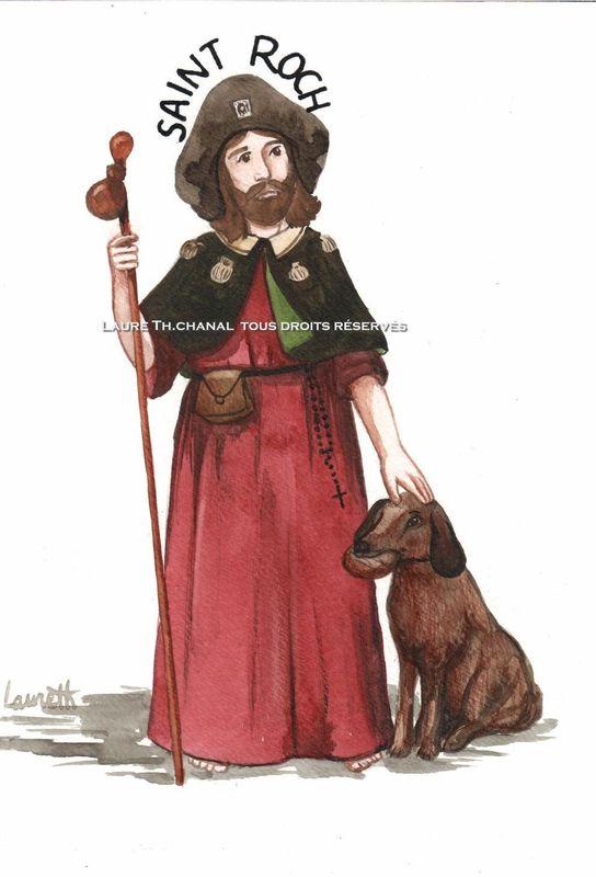 saint Roch, pèlerin