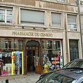 Les pharmacies de nancy.