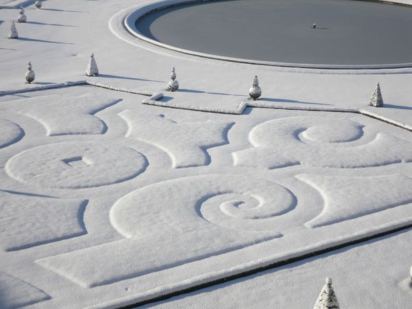 Versailles, hiver 2010