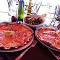 Pizzas nordiques, L'Ipanéma, août 2012.