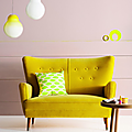 Colors ❤ acid yellow & pink ❘ c'est quand le printemps ?
