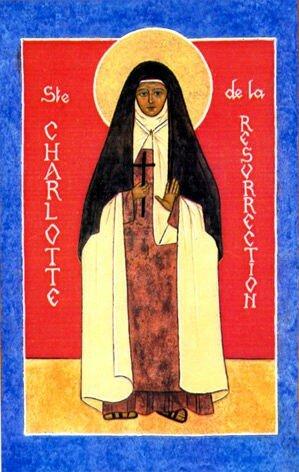 carmBse Charlotte de la résurrection