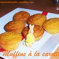 Muffins carotte / oranges