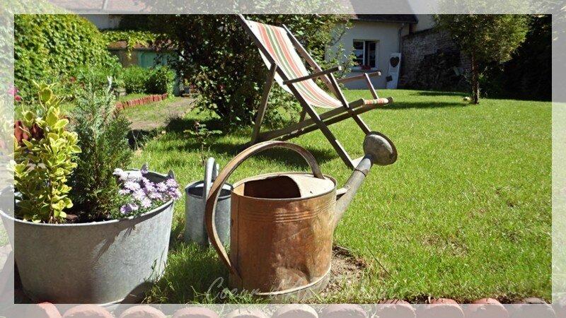 Jardin avant/après, nouveautés Patines & Déco et week-end