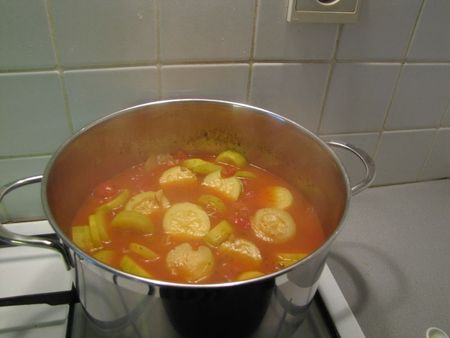Soupe de courgettes tomate3