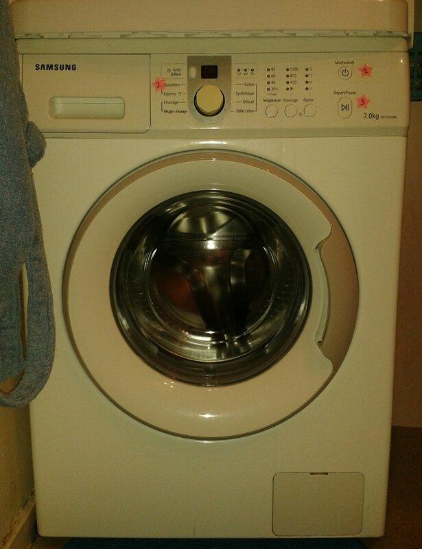 Customiser son lave linge s che linge tuto pour cb de - Mettre seche linge sur lave linge ...