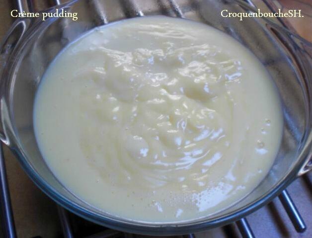 Crème pudding