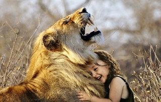 Jung-anim-sauv-Le lion et l'enfant