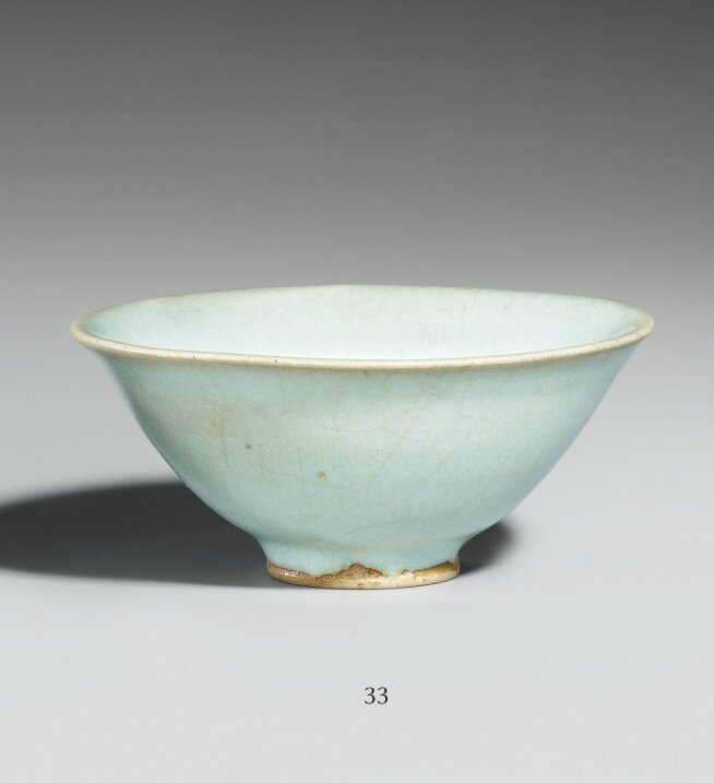 A lavender blue-glazed Junyao bowl. Song dynasty (960 - 1279)