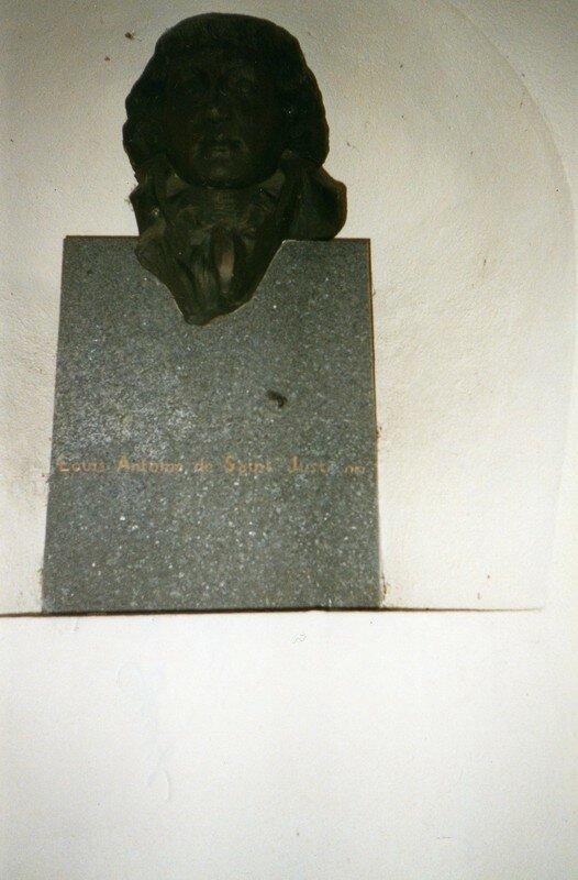 Buste de Saint-Just à Decize