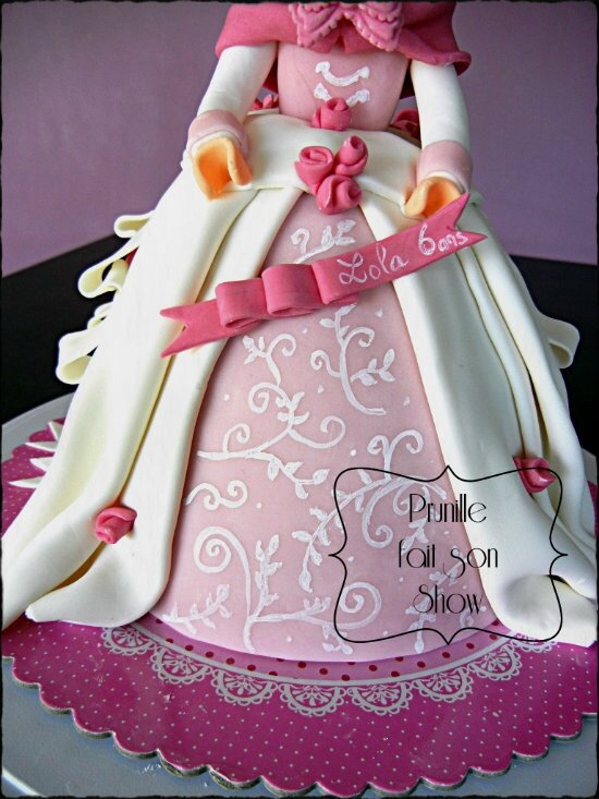 gateau playmobil princesse prunillefee 2