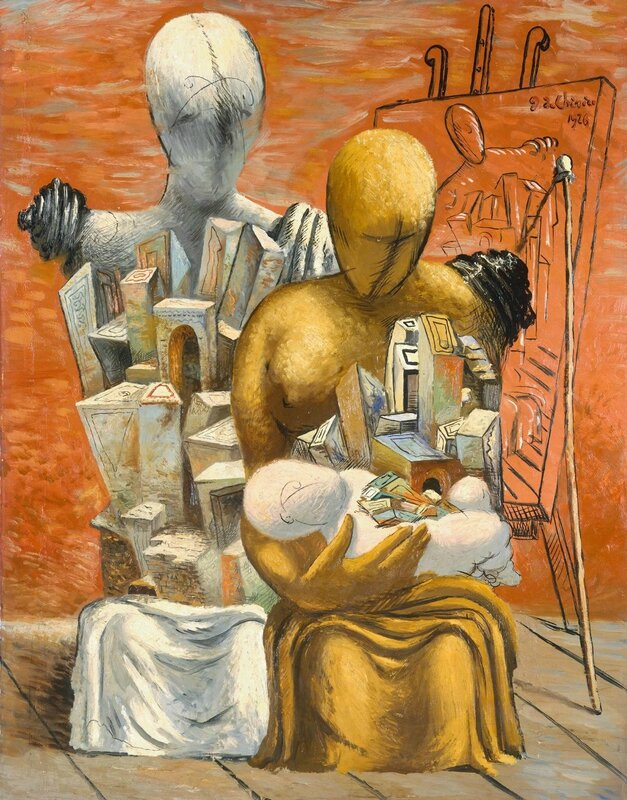 Chirico-The Painter's Family-1926-Tate