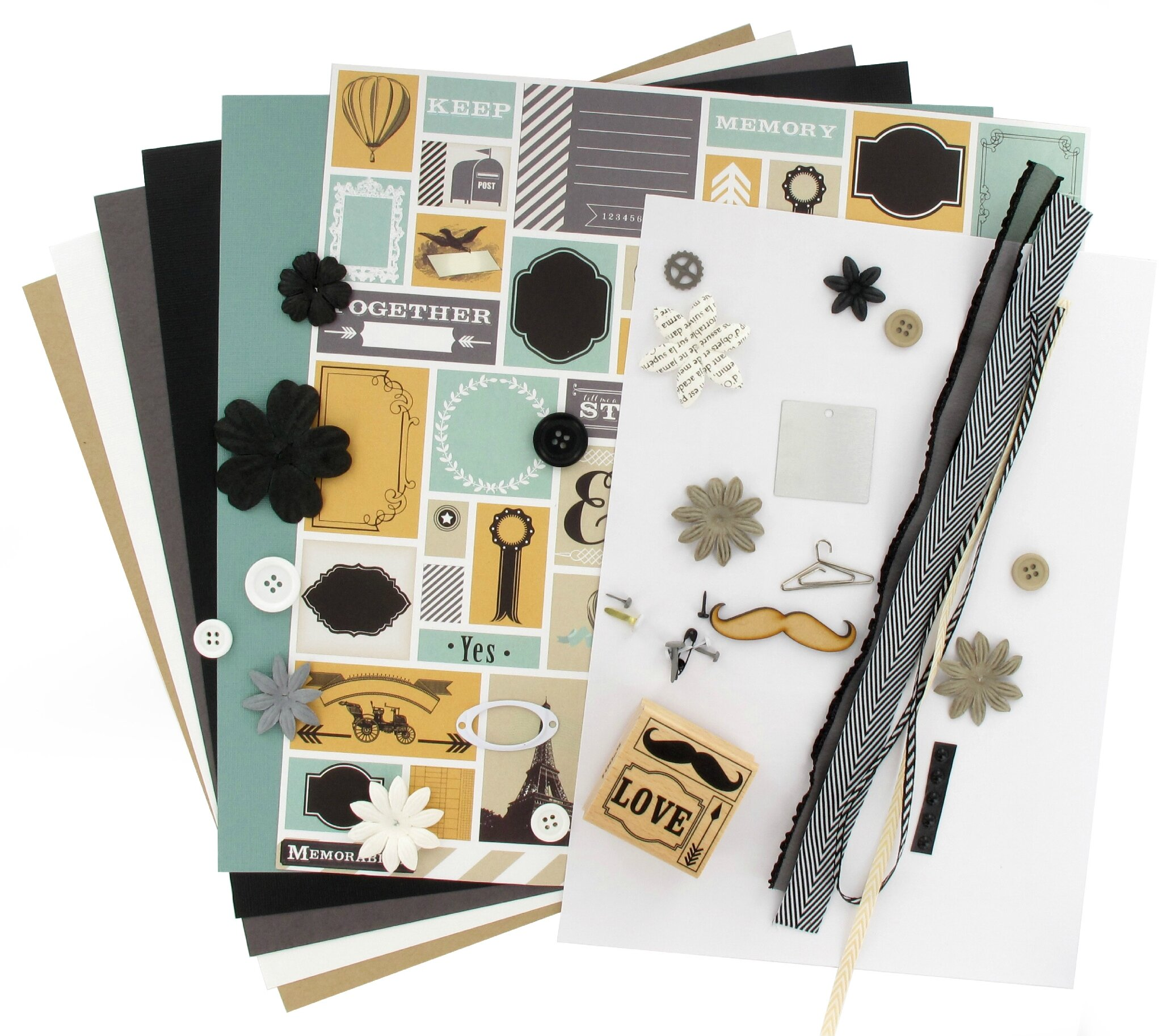 "Kit Multi*Pages de Mars ""Ladies & Gentlemen"", Thalie"