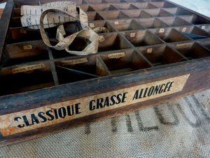caiser bois classique grasse allongée