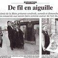 1ère Biennale en 2005 - Presse