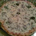 Pizza tomate kefta poivron & fromage
