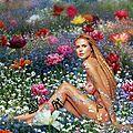 Tapis de fleurs