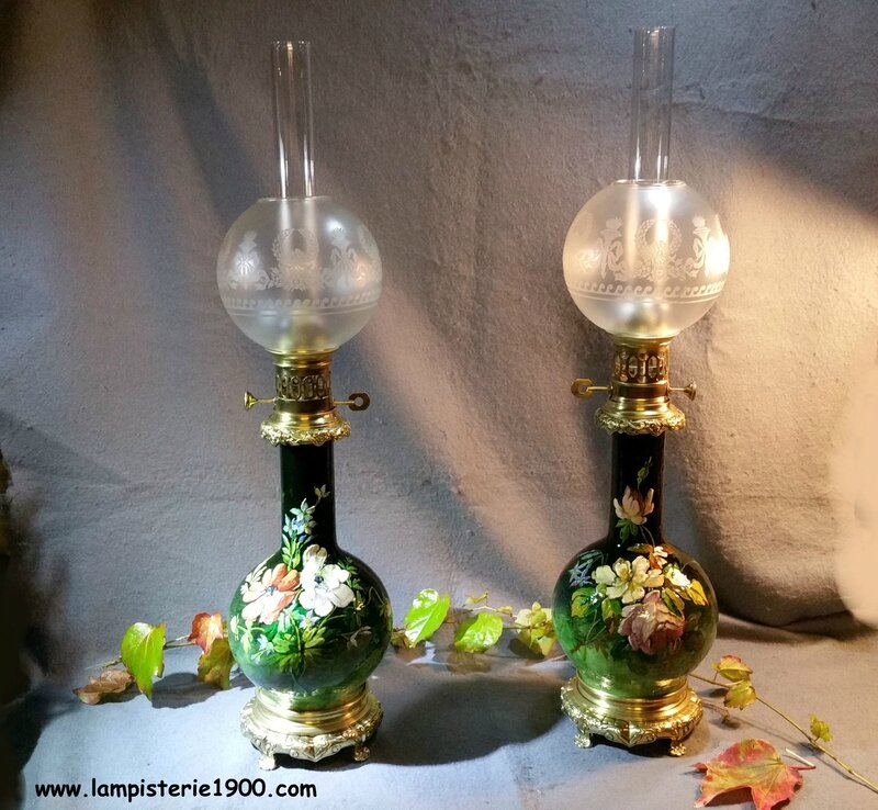 la-lampisterie-1900-modérateurs-à-huile-restaurés
