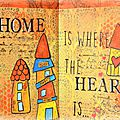 Art journal: home sweet home...