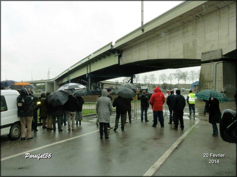 Pont Mathilde pluie