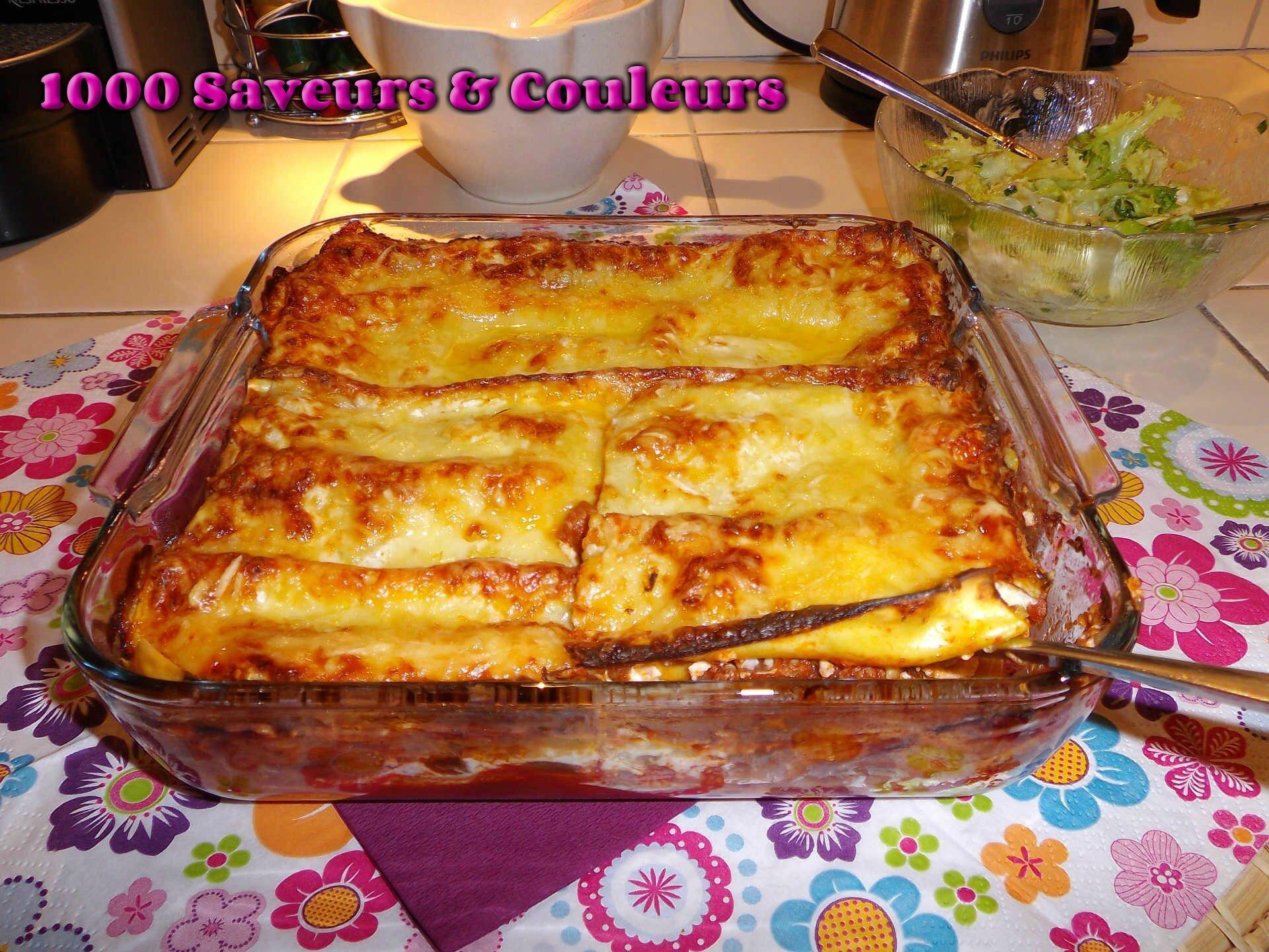 Lasagnes – Aubergines, Bœuf & Ricotta (Mamma Mia!)