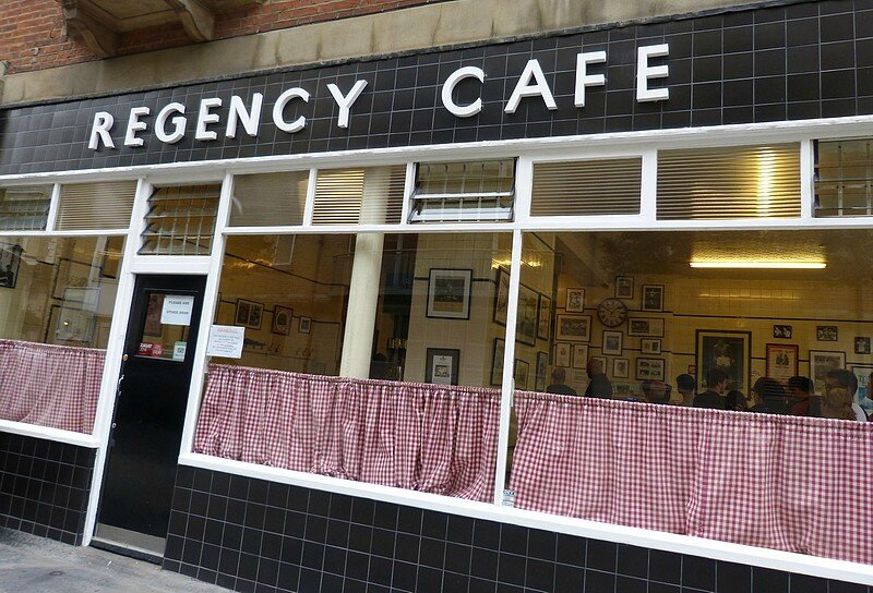 regency cafe westminster