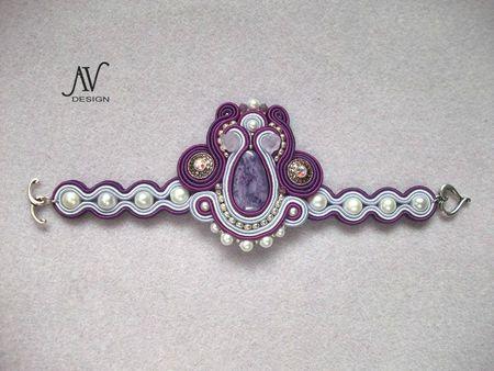 Lilas bracelet