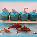 Cupcakes dauphins