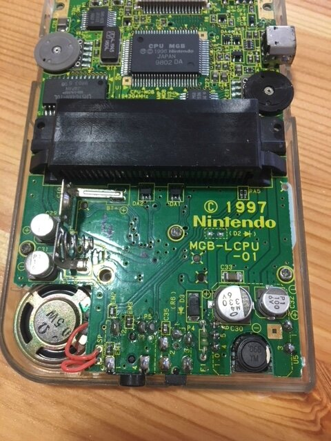 Réparation de ma Gameboy Pocket