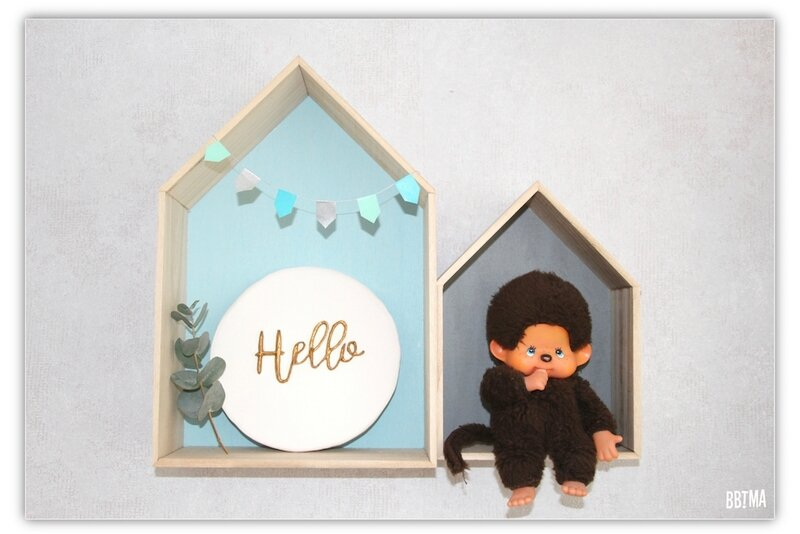 4 plaque blanc or doré déco décoration plaque murale platre scandinave diy tuto giotto fila ambassadrice hello 3D relief do it yourself bbtma blog enfant