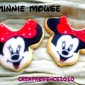 sablés minnie