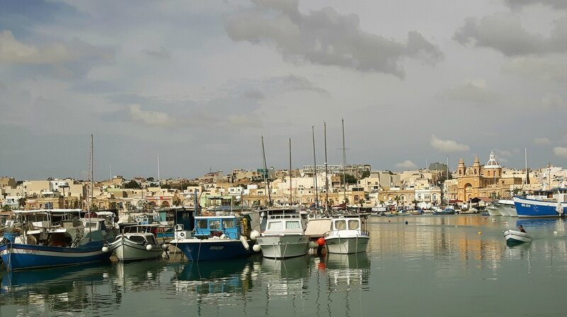 JC Grapperon - 75 Port de Marsaxlokk