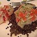 Salade de bettes, tomates et lentilles - végétalien