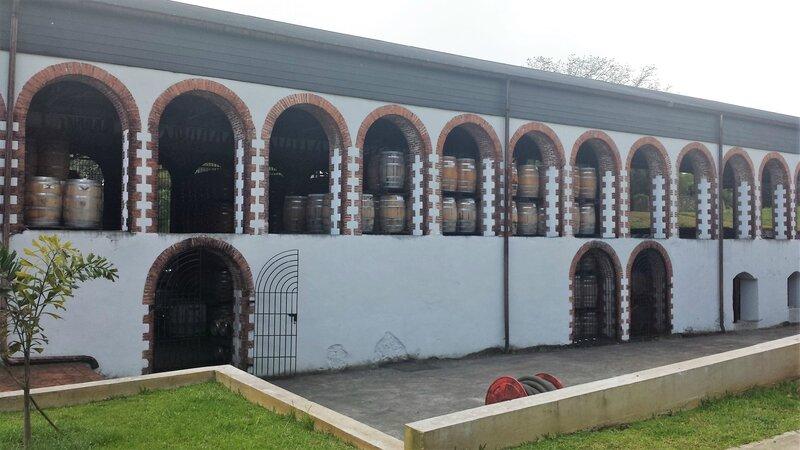 2016 03 11 (8) - Habitation Saint-Etienne au Gros-Morne - chais de vieillissement