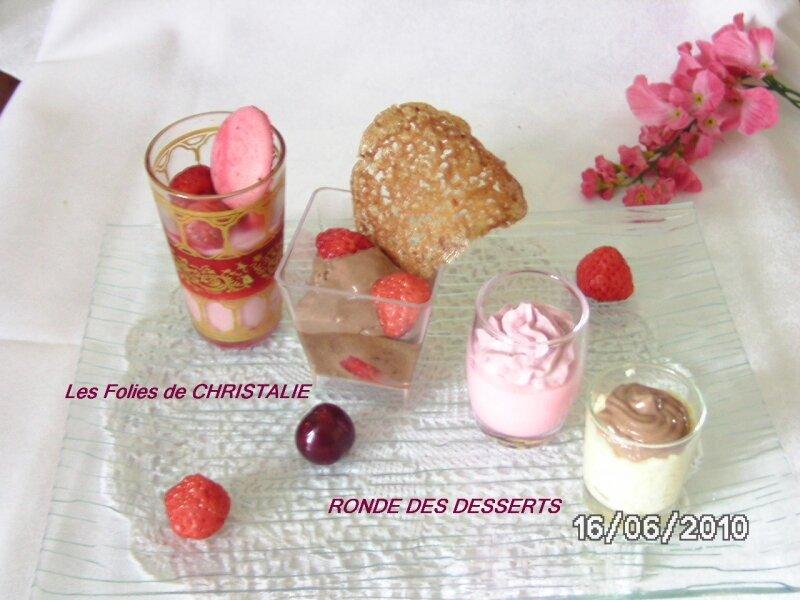 Ronde des desserts