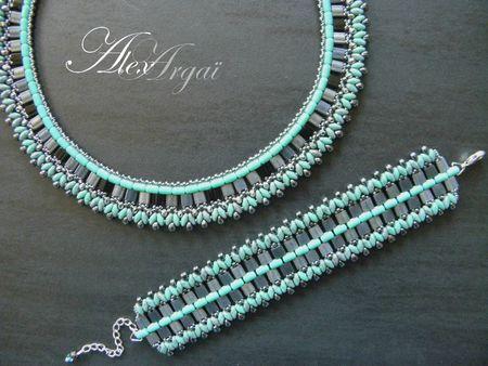 Bracelet Barely's + collier