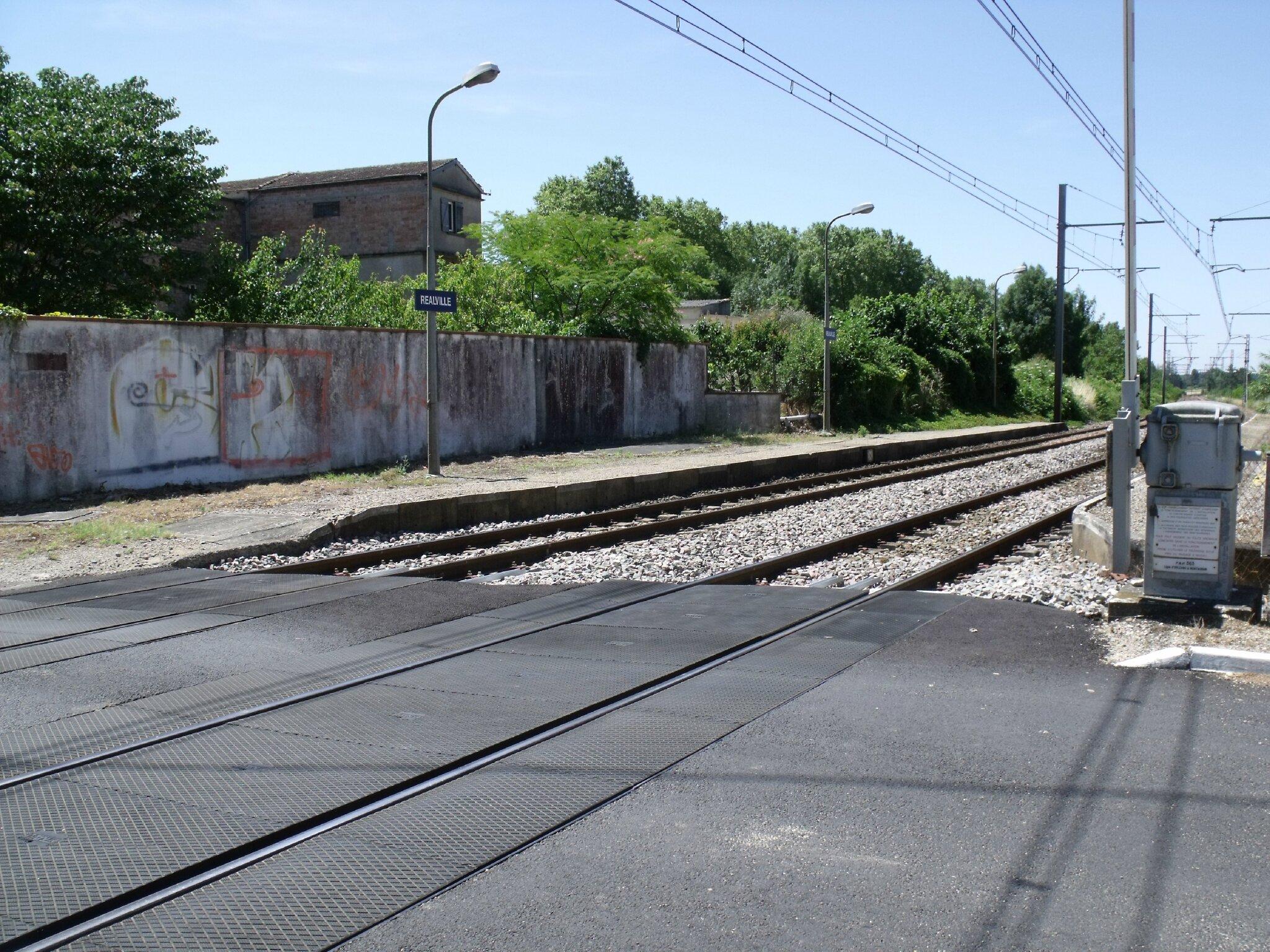 Réalville (Tarn-et-Garonne - 82) Halte