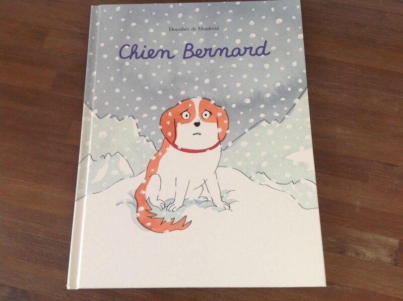 Chien Bernard couverture