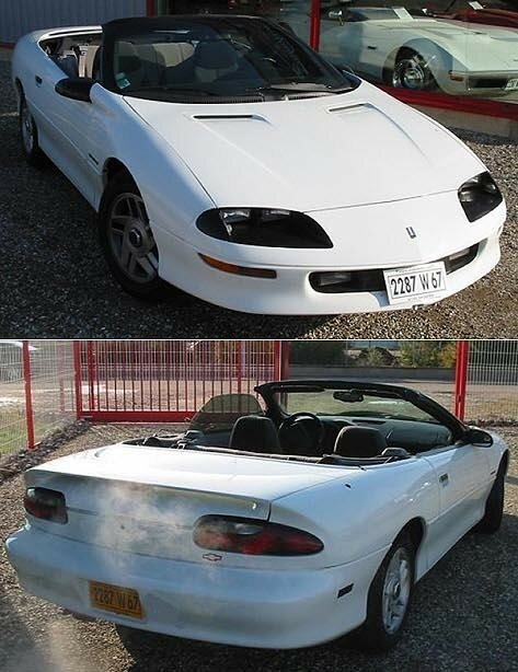 CHEVROLET - Camaro Cabriolet - 1994