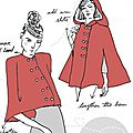 Audrey & me - fairy tale cape