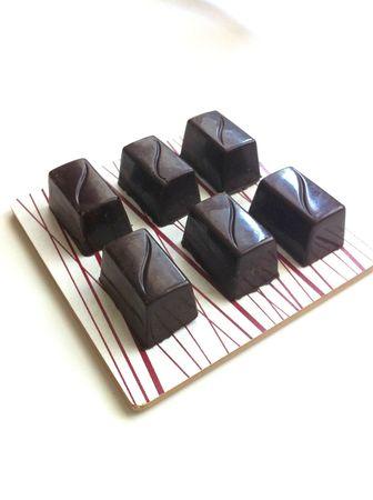 chocolats extra noir
