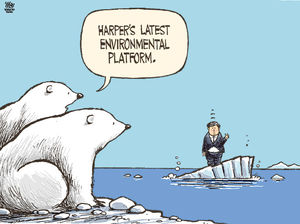 Harper_sinking_on_melting_ice_editorial_cartoon